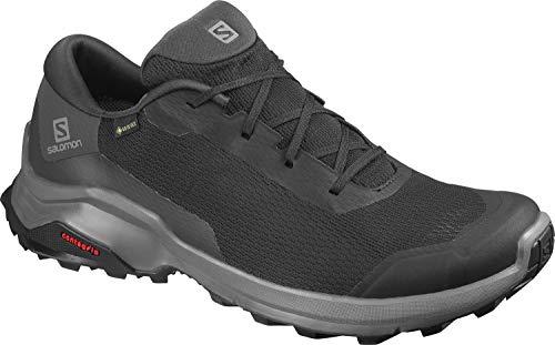 Salomon Herren X REVEAL GTX Trekking- & Wanderhalbschuhe, Farbe: schwarz (Black/Black/Magnet) Größe: EU 43 1/3
