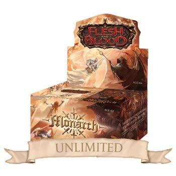 Legend Story Studios Flesh & Blood TCG - Monarch Unlimited Booster Display (24 Packs) - EN