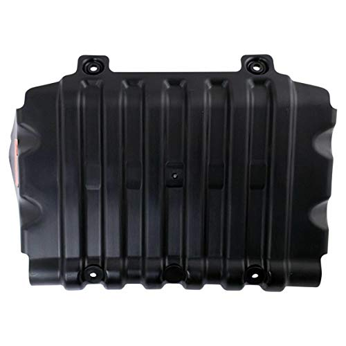 Front Lower Under Black Plastic Engine Splash Shield Compatible with GM Full-size Truck SUV