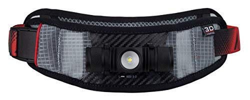 Ultraspire Lumen Collection Waist Light Belt   Lightweight & Water Resistant (Lumen 600 3.0)