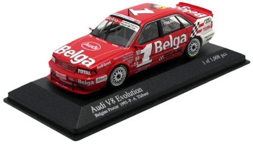 Minichamps 400931401 Audi V8 Evolution Total P.A. Thibaut 1993 Auto Da Gara Scala 1/43