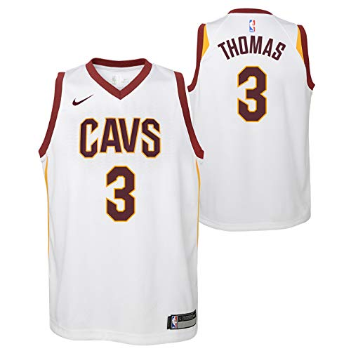 OuterStuff Isaiah Thomas Cleveland Cavaliers NBA Nike Youth White Association Swingman Jersey