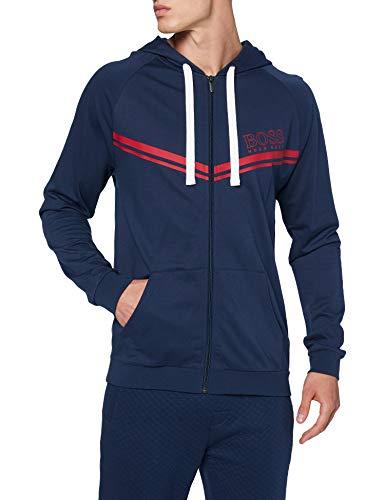BOSS Herren Authentic Jacket H Sweatshirt, Dark Blue402, L