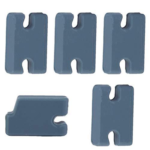 Kit de compatibilidad con Aletas de Tabla de Surf, Exquisito Kit de Relleno de lengüeta de artesanía para Jugadores para Aficionados para el hogar para viajeros