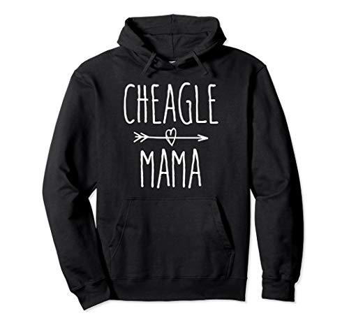 Cheagle Mom Gift Cute Cheagle Mama Pullover Hoodie