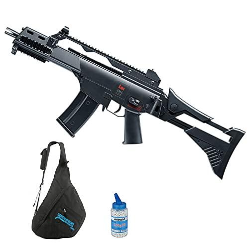 Arma de Airsoft HK G36C IDZ Advance electrica (6mm) | Arma Larga semiautomática de Bolas PVC