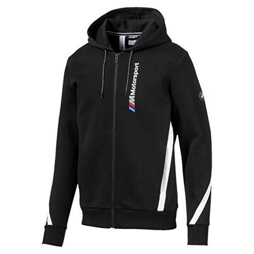PUMA BMW M Motorsport Herren Kapuzen-Sweatjacke Puma Black XS