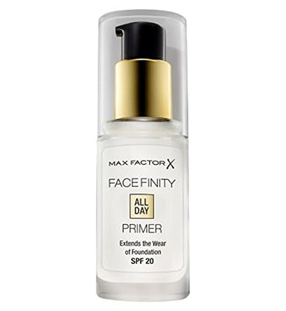 わざわざ電卓快適マックスファクターのFacefinity終日プライマー (Max Factor) (x2) - Max Factor Facefinity All Day Primer (Pack of 2) [並行輸入品]