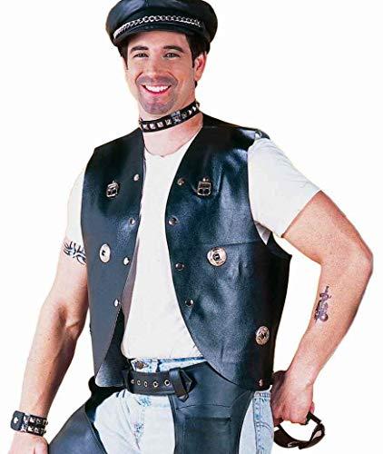 Men's Goth Gay Punk Rocker Costume
