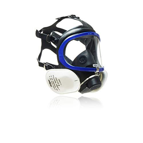 Dräger X-plore 5500® | Máscara-respirador de protección Completa con filtros reemplazables Pure P3 | Apta para Polvo y para Agricultura y Bricolaje