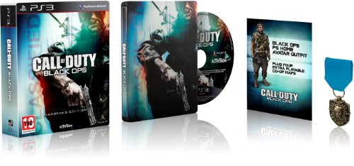 Call of Duty: Black Ops - Hardened Edition (PS3) [Importación Inglesa]