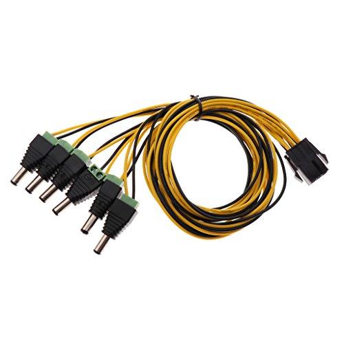 ATX Pci-e Express 6pin Zu 6pcs Dc 5.5x2.5mm Stecker Von Gridseed Mini-Kabel