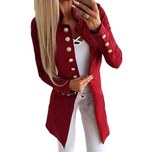 Babao dames opstaande kraag pak jas lange mouwen casual blazer