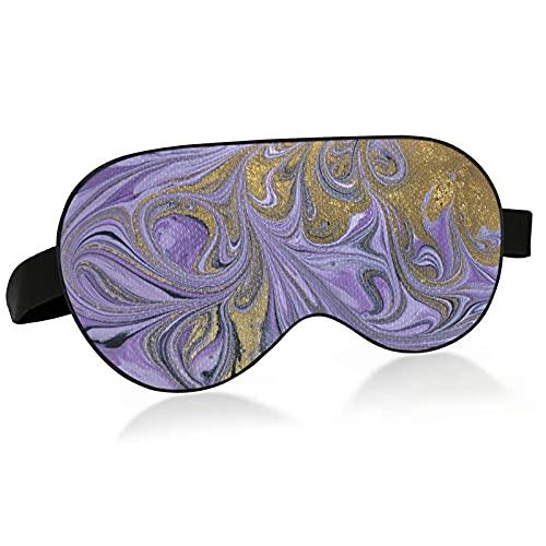 Schlafmaske, violette Marmorierung, Kunstwerk, Textur, Augenmaske zum Schlafen, violett, Marmorierung, Kunstwerk, Textur, Schlafmaske, Augenmaske für Schlaf