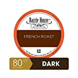 Barrie House Bulk Quantity Value Pack Single Serve Coffee Pods, 80 Count   French Roast   Compatible With Keurig K Cup Brewers   Small Batch Artisan Coffee in Convenient Single Cup Capsules