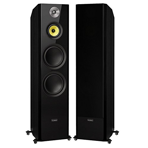 Fluance Signature Series Hi-Fi Three-Way Floorstanding Tower Speakers with Dual 8' Woofers (HFF)