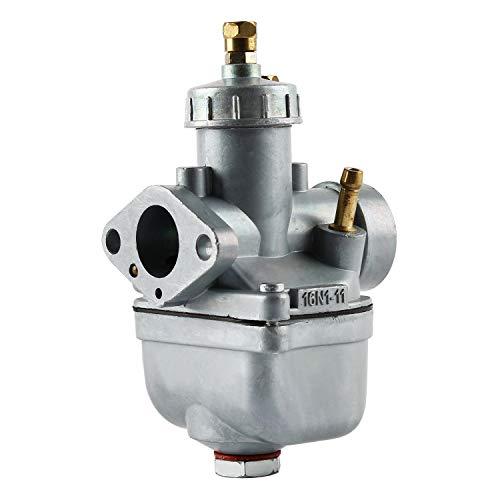 Wilktop Tuning Vergaser, 16N1-11 Vergaser 19mm Passend für Simson MZA 16N1 oder Simson S50 S51 S70