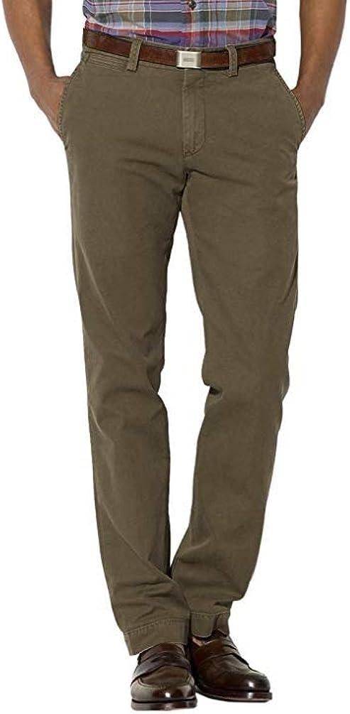 Raph Lauren Men's Dark Olive Green Classic Fit Chino Pants 32x30