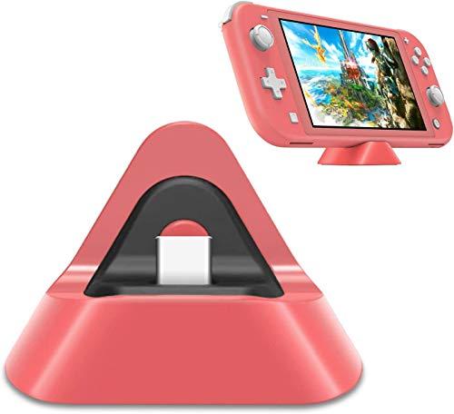 DOBE Nintendo Switch /Nintendo Switch Lite 充電スタンド Nintendo Switch Lite対応 充電スタンドSwitch充電ドック Nintendo Switch ドック スイッチ ドック スイッチ Lite プレイスタンド ニンテンドー スイッチ