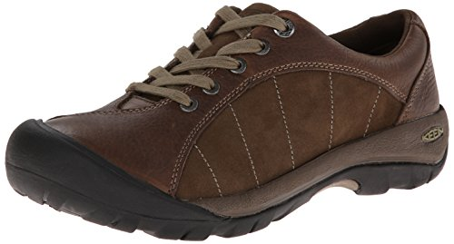KEEN Women's Presidio Oxford,Cascade Brown/Shitake,5 M US