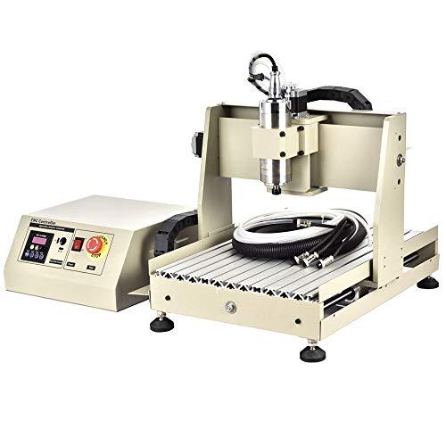 USB 3040 CNC Router 4 Achse Gravirmaschine Fräsmaschine 800W Engraver+Controller, Graviergerät Fräsmaschine Engraver