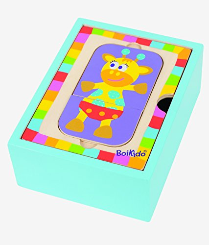 Boikido - Caja-Puzzle de Animales (80834100)