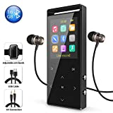 "MP3 Player with Bluetooth, Lossless 16 GB Running MP3 Player Bluetooth MP3 Music Player 1.8"" Sc…"