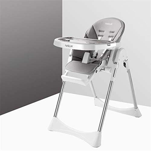Best Deals! High Chair Kids Dinner Chair Baby Booster Seat High Chair Portable with Tray Feeding Pla...