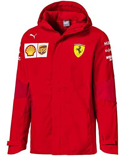 PUMA Herren Scuderia Ferrari Team Jacke Farbe: Rot (02); Größe: M