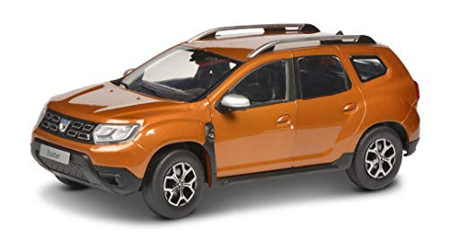 Solido S1804601 Dacia Duster MK2 2018-Maqueta de Coche (Escala 1:18), Color Naranja (421185520)