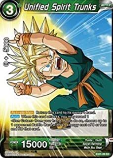 Dragon Ball Super TCG - Unified Spirit Trunks - EX01-06 - EX - Expansion Deck Box Set 01 - Mighty Heroes