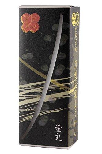 京都一夢庵 刀剣武家ようかん 蛍丸 25周年記念パッケージ 柚子 55gx1本