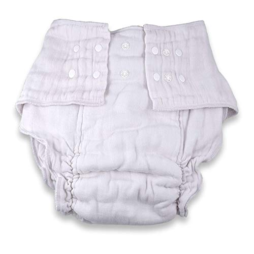 InControl - Super Snap Fitted Cloth Adult Diaper (Large)