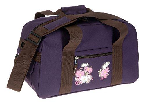 Elephant Sporttasche Select Tasche Schulsporttasche 47 cm Sport | Violetta Flower - Lila Violett