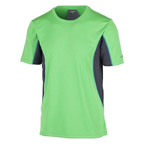 CMP fonctionnel haut T-shirt vert Mesh dryfu Multifunction respirant 3t67077, vert
