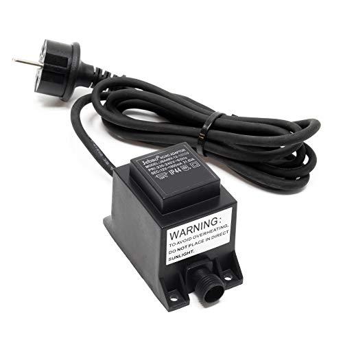 SunSun Jebao JBA48V-12-1800U Netzteil 2 polig IP44 12 Volt 1800 mA 21.6 VA AC/AC