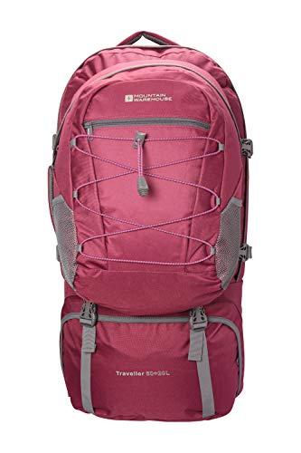 Mountain Warehouse Mochila Traveller 60 + 20 L - Disponible en negra