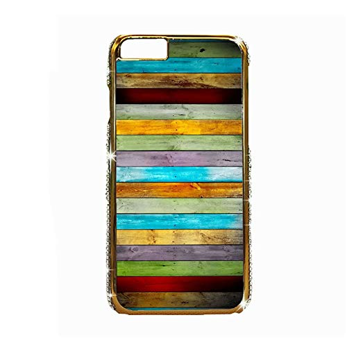 Gogh Yeah Chico Carcasa De Plástico del Teléfono Diseño Wooden Compatible con iPhone 6/6S 4.7Inch Choose Design 110-5