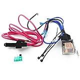 Dreameryoly Autolautsprecher-Kabelsatz Verstärker Subwoofer-Kabelsatz 10GA-Netzkabel 80 AMP-Sicherungshalter 2 Meter