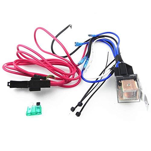 Wood.L 10GA Erdungskabel, 80 AMP Mini Sicherungshalter, Car Audio Lautsprecher Verstärker Verkabelung Subwoofer Line Kit various occasions