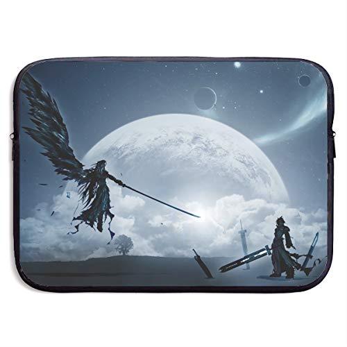 Final Fantasy VII-Cloud Vs Sephiroth Anime Style Laptop Bag Classic 13 Inch 15inch Customs Tablet Bag Sleeve Case Messenger Bag