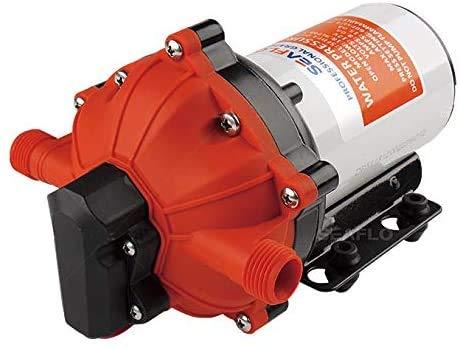 lighteu®, SEAFLO 12V DC 5,5 GPM 60 PSI Membran-Wasserdruckpumpe der Serie 55 für Wohnmobile mit Schiffsboot
