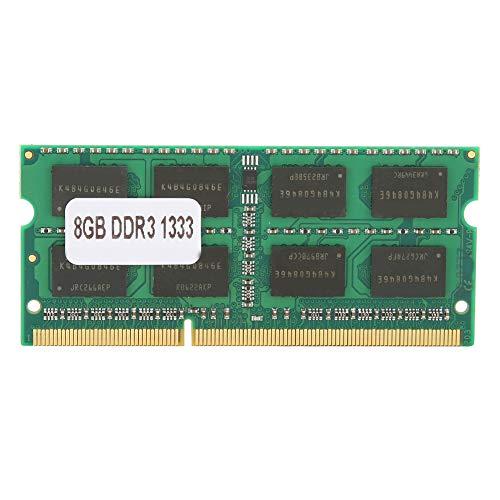 Annadue Modulo di Memoria per Notebook DDR3 da 8 GB 1333 PC3‑10600, Parti del Computer della Banca di Memoria da 204 Pin, Compatibile per Intel, per AMD.