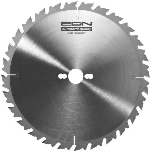 EDN Euronorm Quality–EDN HW Kreissägeblatt 250x 3,0x 30Z = 24WA entspiegelnd Made in Germany