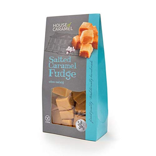 House of Caramel Salted Fudge, 120 g