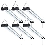 Sunco Lighting 6 Pack Industrial LED Shop Light, 4...