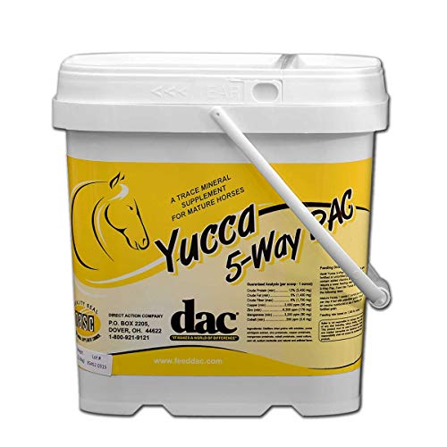 DAC Yucca 5 Way Pac for Horses - 5 lb
