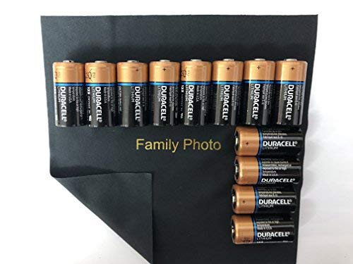 12 Count Duracell Ultra Lithium 3V CR123 Leak Resistant Long Lasting Batteries