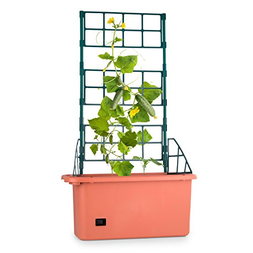 Waldbeck Power Planter Maceta tutor 3 niveles 75x130x35cm