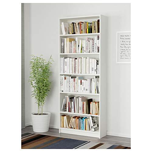 IKEA BILLY estantería 80x28x202 cm blanco